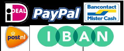 Beschikbare betaalmethoden en verzendwijze